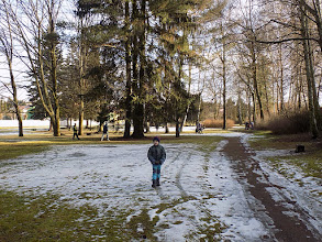 Photo: Sníh nám ale téměř roztál...