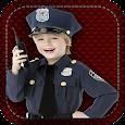 Wireless police for children icon