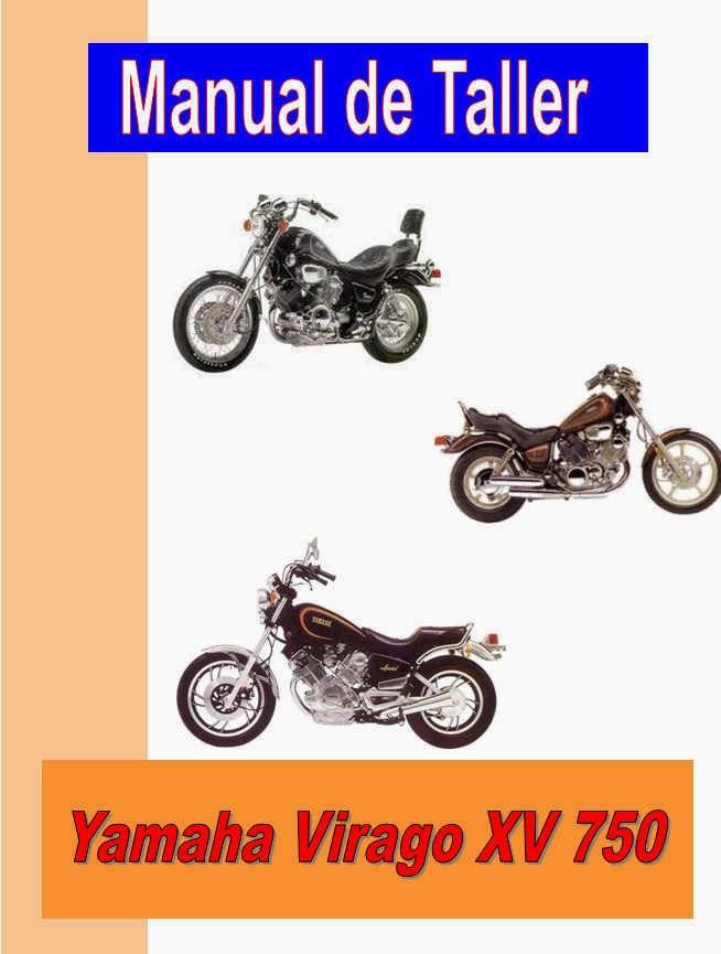 Yamaha XV 750 Virago-manual-taller-despiece-mecanica