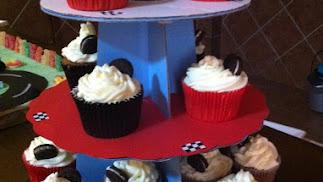 Cupcakes de Oreo.