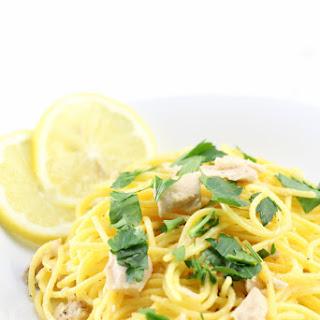 Lemon Tuna Olive Oil Pasta (Gluten-Free).
