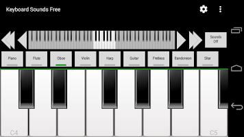 Screenshot of Keyboard Sounds Free