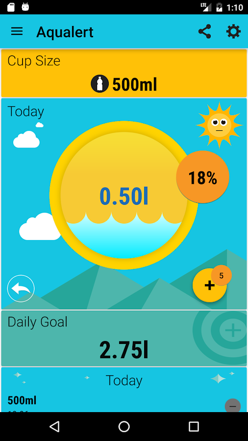 Aqualert Premium:Water Tracker- screenshot