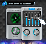 screenshot of EQ & Bass Booster Pro - metal