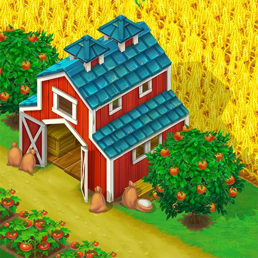 Wild West: New Frontier 농장을 돌보고 작물들을 수확하세요!