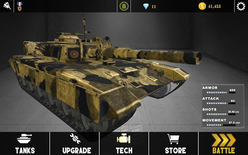 Modern Army Tank War Machine -Tank Shooting Games 12 screenshots 4
