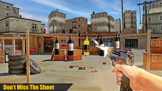 Real Bottle Shoot action Challenge: Shooter Game - náhled