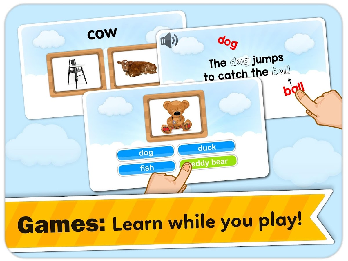 Monkey Junior: Learn to read English, Spanish&more- screenshot