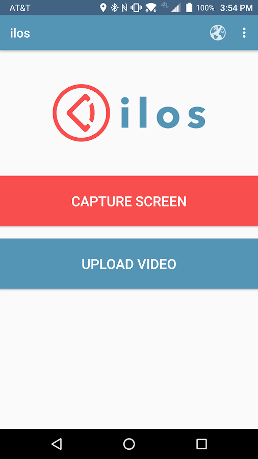 ilos screen recorder- screenshot