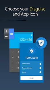 Calc Vault-Photo,video locker,Safe Browser,Applock Capture d'écran