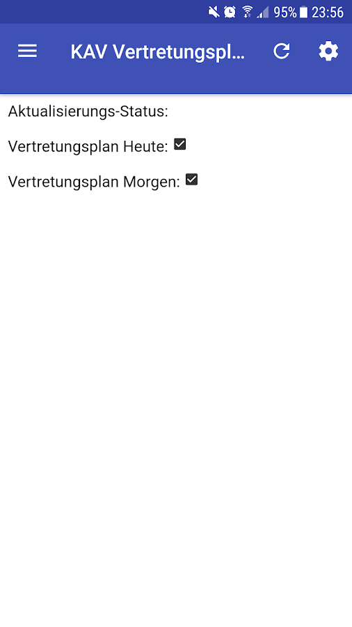 KAV-Gymnasium Celle App- screenshot