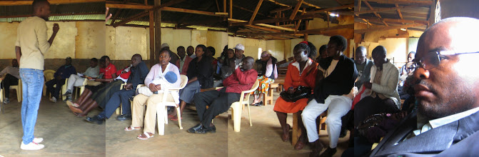 Photo: A meeting to discuss Gatina-Pesa in schools for school fees
