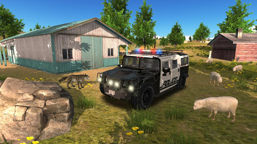 Police Car Driving Offroad 2 screenshots 16