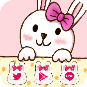 Pink Rabbit Bow