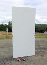 Photo: 4' x 8' lightweight Sing sign board