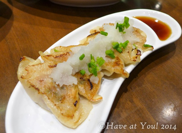 Hakata style gyoza