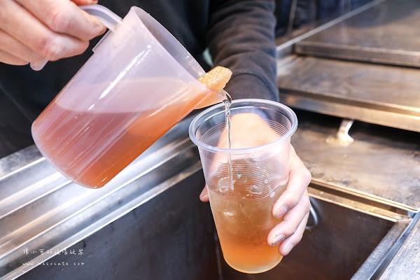清水糖炒糖古早味紅茶、綠茶