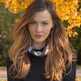 I dare you! by Nistorescu Alexandru - People Portraits of Women ( #natural, #autumn, #light, #truecolors, #portrati )