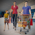 Virtual Mother Supermarket - Shopping Mall Games icon