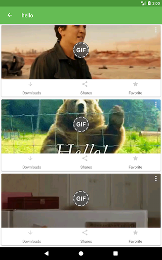 Whats a Gif - GIFS Sender(Saver,Downloader, Share) 2.2.9.5 screenshots 11
