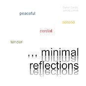 Carátula minimal reflections (Salvador Carbó)