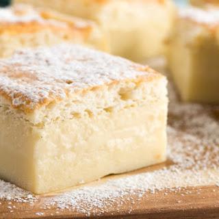 How To Make Vanilla Magic Cake.