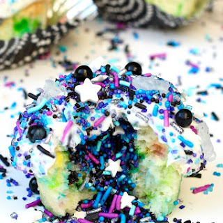 Cosmic Cupcakes {with a Surprise Inside!}.