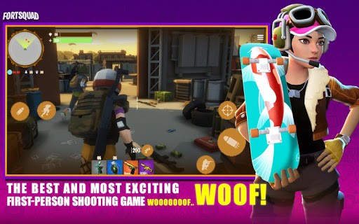 Fort Squad Royale Battle android2mod screenshots 9