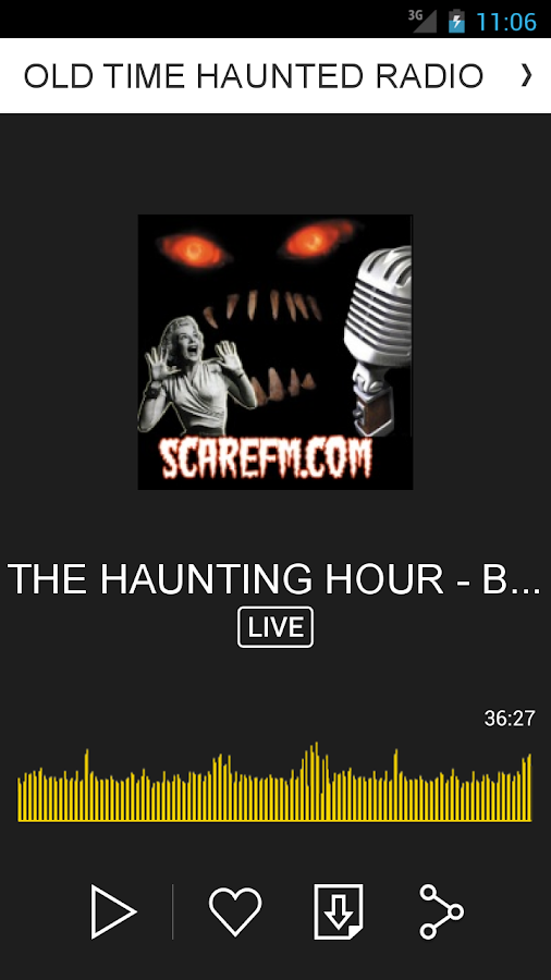 OLD TIME HAUNTED RADIO- screenshot