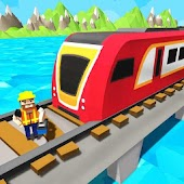 Water Surfer Train Construction: Drive Train Android APK Download Free By OneTen Games