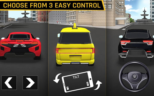 City Taxi Driving: Fun 3D Car Driver Simulator screenshots 8