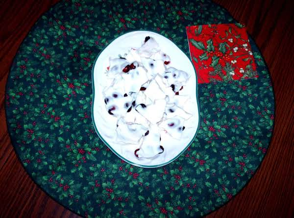 White Chocolate Covered Cranberries Recipe