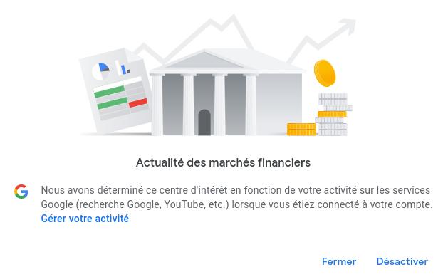 Contrôler l'affichage des publicités Google