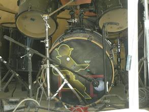 Photo: Golden Cafe drum kit