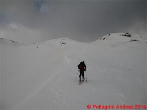 Photo: IMG_6982 Riccardo verso il tratto finale, sole ancora nascosto