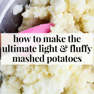 How to Make the Ultimate Light and Fluffy Mashed Potatoes.