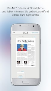 NZZ E-Paper screenshot 0