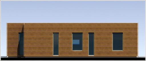 House 02 - Elewacja lewa