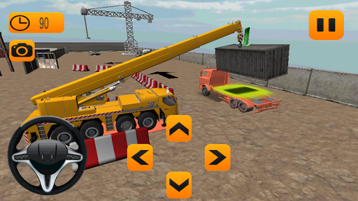 Factory Cargo Crane Simulation  screenshots 2
