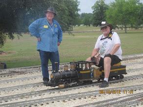Photo: Pete Greene and Bill Smith.  HALS 2012-0818 David Hannah photo
