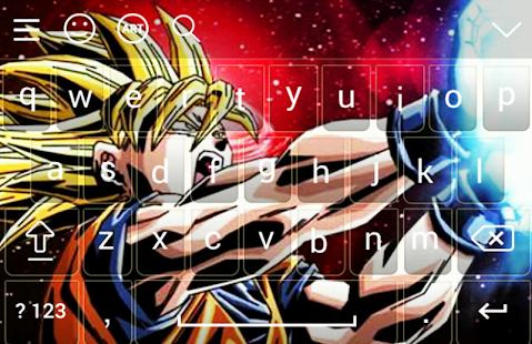 Goku Super Saiyan DBZ Keyboard - náhled