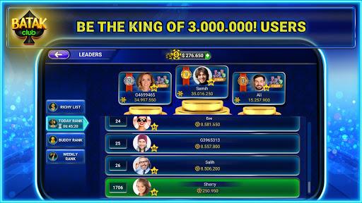 Batak Club: Online Batak Eu015fli Batak u0130haleli Batak 5.28.8 screenshots 3