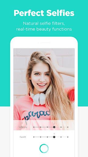 Candy Camera - selfie, beauty camera, photo editor  screenshots 2