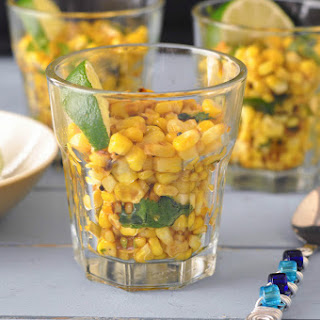 Masala Corn and a Book Review