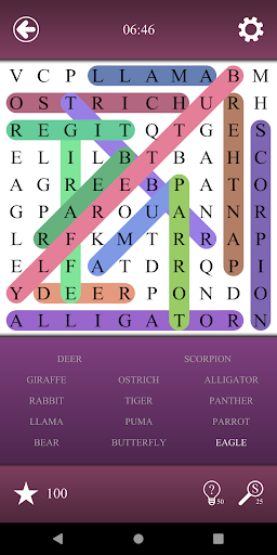 Word Search - Search for words screenshots 2