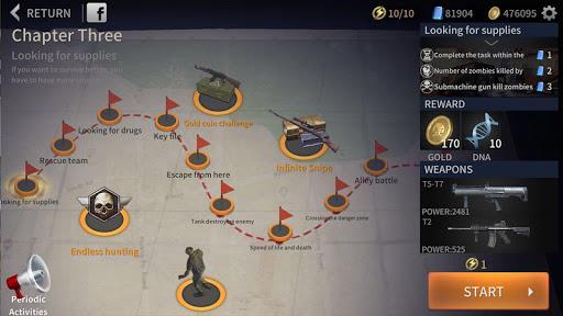 Zombie City : Dead Zombie Survival Shooting Games  screenshots 1