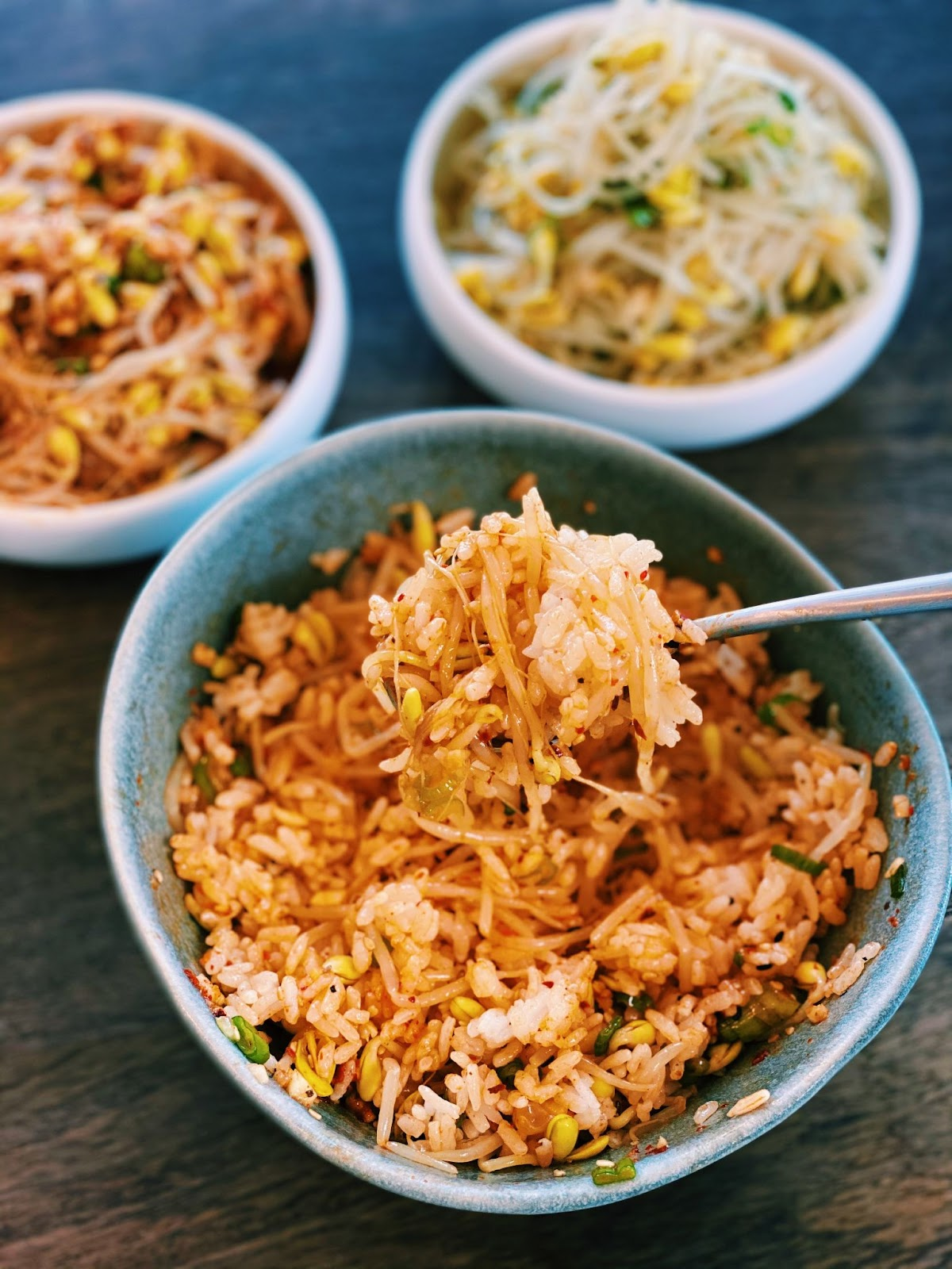 Korean Bean Sprout Side Dish - Kongnamul Muchim