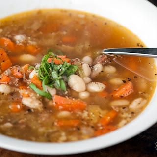 Leftover Ham Bean Soup