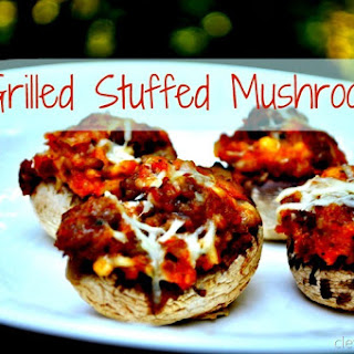 Grilled Stuffed Mushrooms (recipe)