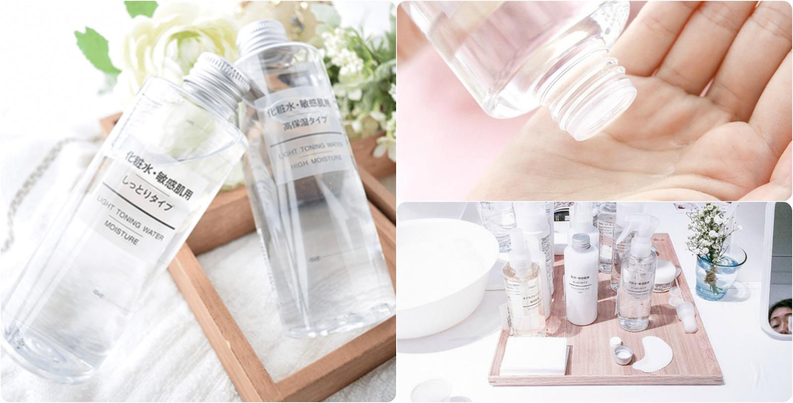 Toner Muji là thương hiệu nước hoa hồng nổi tiếng khắp toàn cầu đến từ Nhật Bản